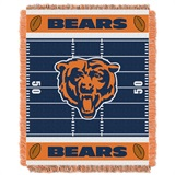 "Chicago Bears NFL ""Field"" Baby Woven Jacquard Throw"
