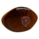 Chicago Bears NFL  Football Shaped 3D Plush Pillow