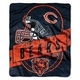 "Chicago Bears NFL ""Grand Stand"" Raschel Throw"
