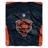 "Chicago Bears NFL ""Jersey"" Raschel Throw"