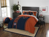 "Chicago Bears NFL ""Soft & Cozy"" Full Comforter Set"
