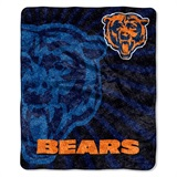 "Chicago Bears NFL ""Strobe"" Sherpa Throw"