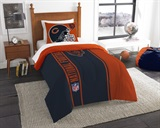 Chicago Bears NFL Twin Applique Comforter Set