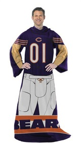 "Chicago Bears NFL ""Uniform"" Adult Comfy Throw"
