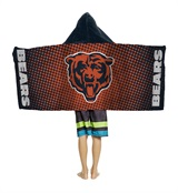 Chicago Bears NFL Youth Hooded Beach Towel