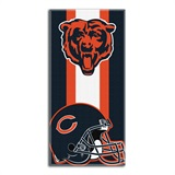 Chicago Bears NFL Zone Read Beach Towel