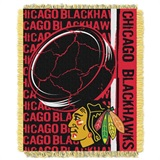 "Chicago Blackhawks NHL ""Double Play"" Woven Jacquard Throw"