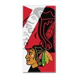 "Chicago Blackhawks NHL ""Puzzle"" Beach Towel"
