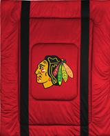 Chicago BlackHawks Sidelines Comforter