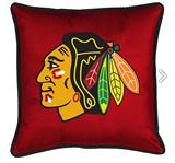 Chicago BlackHawks Sidelines Decorative Pillow