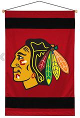 Chicago BlackHawks Sidelines Wallhanging