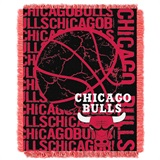 "Chicago Bulls NBA ""Double Play"" Woven Jacquard Throw"