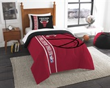 Chicago Bulls NBA Twin Comforter and Sham Set