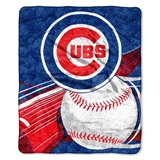 "Chicago Cubs  MLB ""Big Stick"" Sherpa Throw"