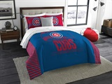 "Chicago Cubs MLB King ""Grandslam"" Comforter Set"