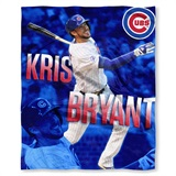 "Chicago Cubs MLB ""Kris Bryant"" Player Silk Touch Throw"