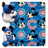 "Chicago Cubs MLB ""Mickey"" Hugger with Throw"