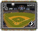 "Chicago White Sox MLB ""Cellular Field"" Stadium Tapestry Throw"