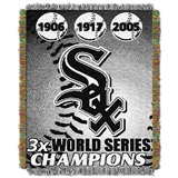 "Chicago White Sox MLB ""Commemorative Woven Tapestry Throw"
