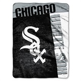 "Chicago White Sox MLB ""Strike"" Raschel Throw"