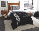 Chicago White Sox MLB Twin Comforter and Sham set