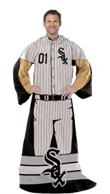 "Chicago White Sox MLB ""Uniform"" Adult Comfy Throw"