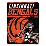 "Cincinnati Bengals NFL ""40 yard Dash"" Micro Raschel Throw"