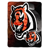 "Cincinnati Bengals NFL ""Bevel"" Micro Raschel Throw"