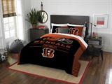"Cincinnati Bengals NFL ""Draft"" Full/Queen Comforter Set"