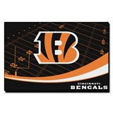 "Cincinnati Bengals NFL ""Extra Point"" Large Tufted Rug"
