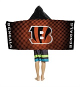 Cincinnati Bengals Youth Hooded Towel