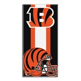 Cincinnati Bengals Zone Read Beach Towel