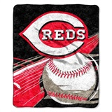 "Cincinnati Reds  MLB ""Big Stick"" Sherpa Throw"