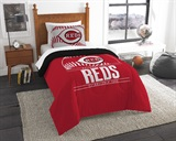 "Cincinnati Reds MLB ""Grand Slam"" Twin Comforter Set"