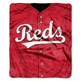 "Cincinnati Reds MLB ""Jersey"" Raschel Throw"