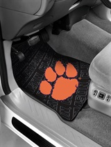 Clemson Car Floor Mat Set