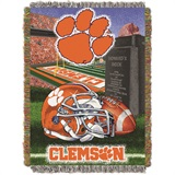 "Clemson ""Home Field Advantage"" Woven Tapestry Throw"