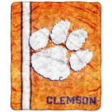 "Clemson ""Jersey"" Sherpa Throw"
