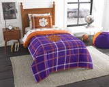 "Clemson ""Soft & Cozy"" Twin Comforter Set"