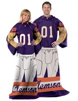 "Clemson ""Uniform"" Adult Comfy Throw"