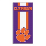 "Clemson ""Zone Read"" Beach Towel"