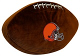 Cleveland Browns Football Shaped 3D Pillow