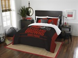 "Cleveland Browns NFL ""Draft"" Full/Queen Comforter Set"