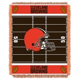"Cleveland Browns NFL ""Field"" Baby Woven Jacquard Throw"