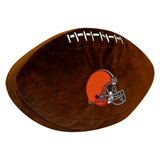 Cleveland Browns NFL  Football Shaped 3D Plush Pillow