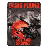 "Cleveland Browns NFL ""Heritage"" Silk Touch Throw"