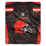 "Cleveland Browns NFL ""Jersey"" Raschel Throw"