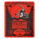 "Cleveland Browns NFL ""Marquee"" Fleece Throw"