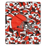 "Cleveland Browns NFL ""Quicksnap"" Raschel Throw"