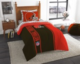 "Cleveland Browns NFL ""Soft & Cozy"" Twin Comforter Set"